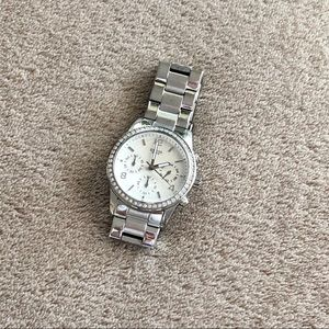 GUESS Watch, Silver - NO Extra Links or Battery